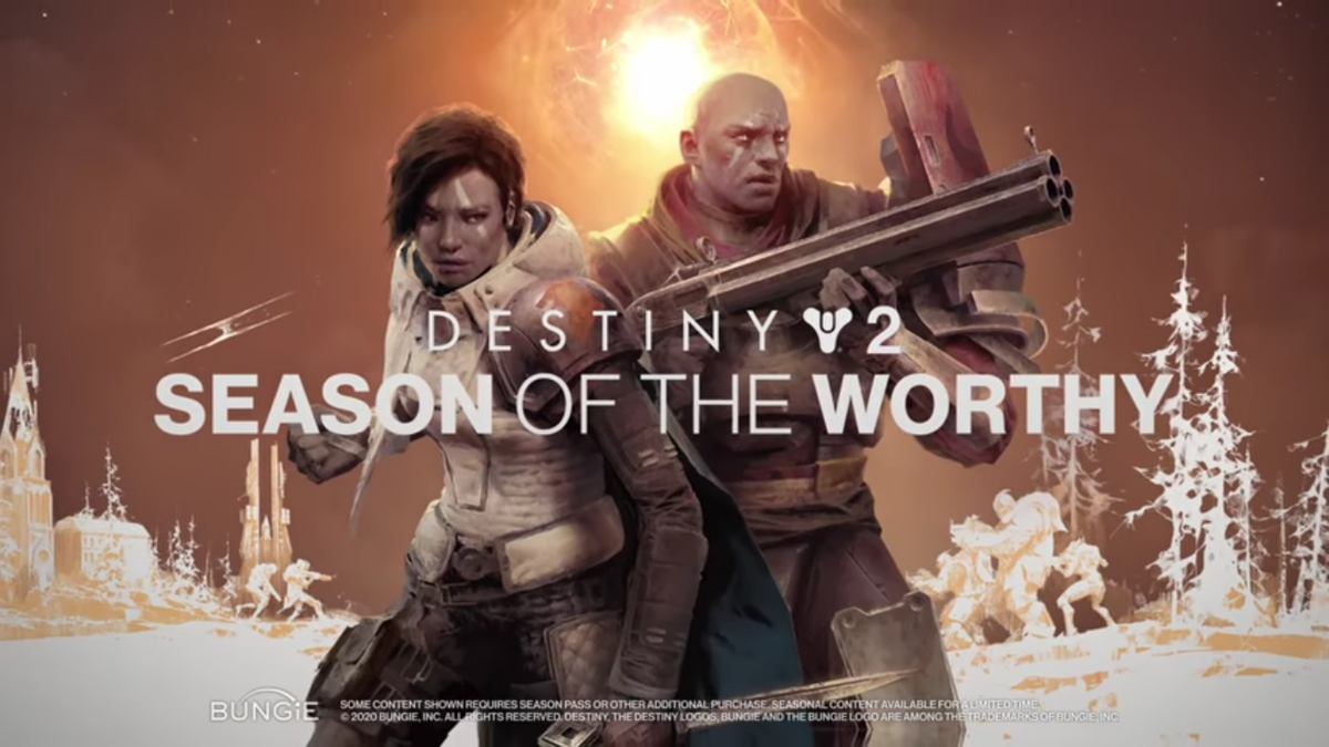 Destiny 2 Season of the worthy dlc