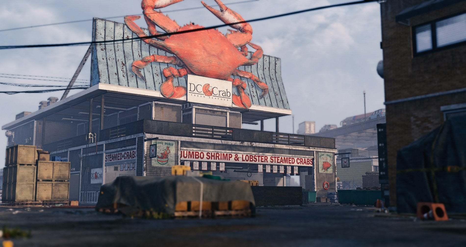 Division 2 Marina Supply Route Classified Assignment