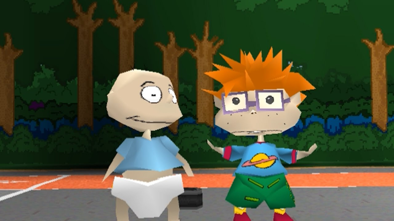 Rugrats Game PS1