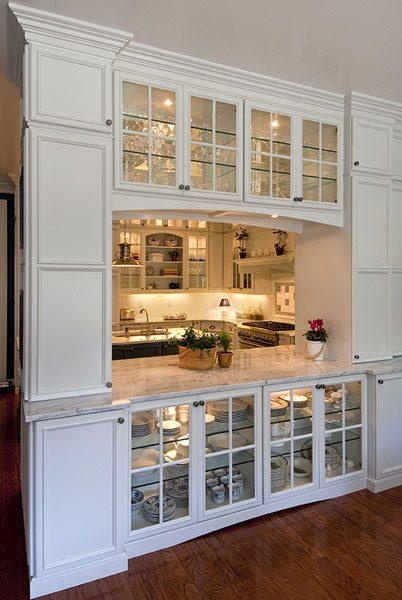 Kitchen Cabinetry Storage