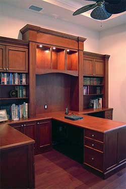 Home Office Built In