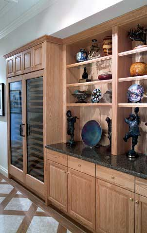 Hall Cabinetry