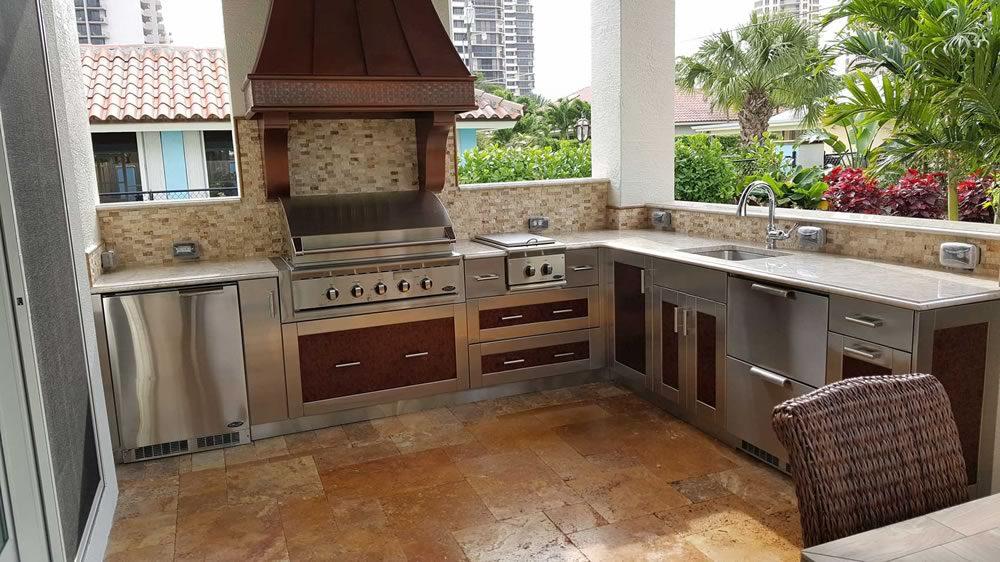 Outdoor Kitchens Jupiter Outdoor Kitchen Ideas Schrapper S