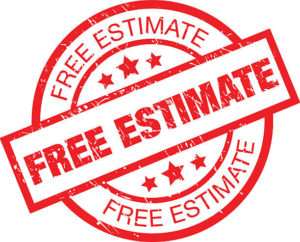 Free Estimate Stamp
