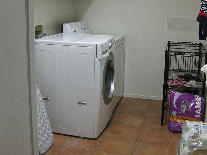 Organized Laundry Room - After
