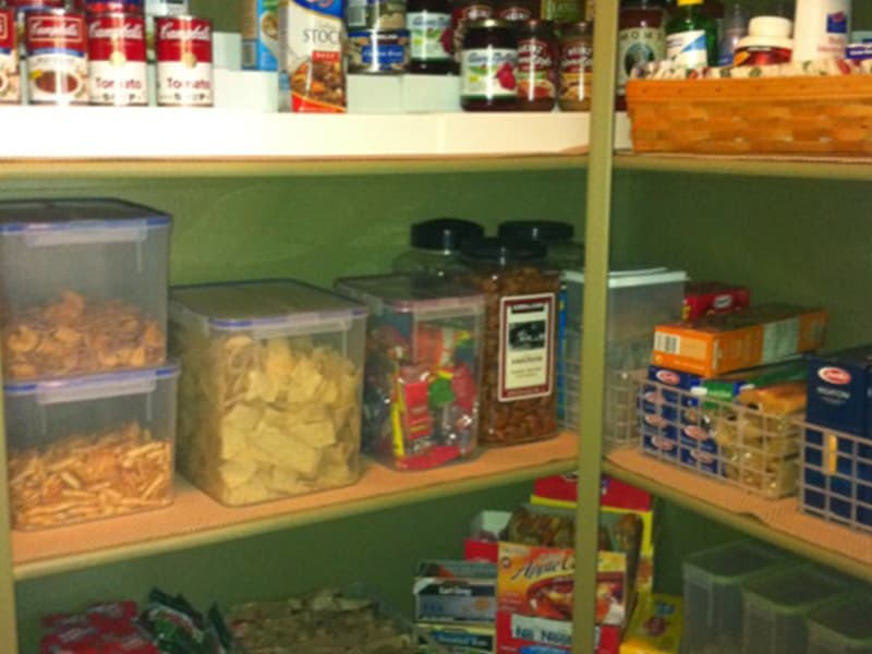 Organized Kitchen Pantry - After