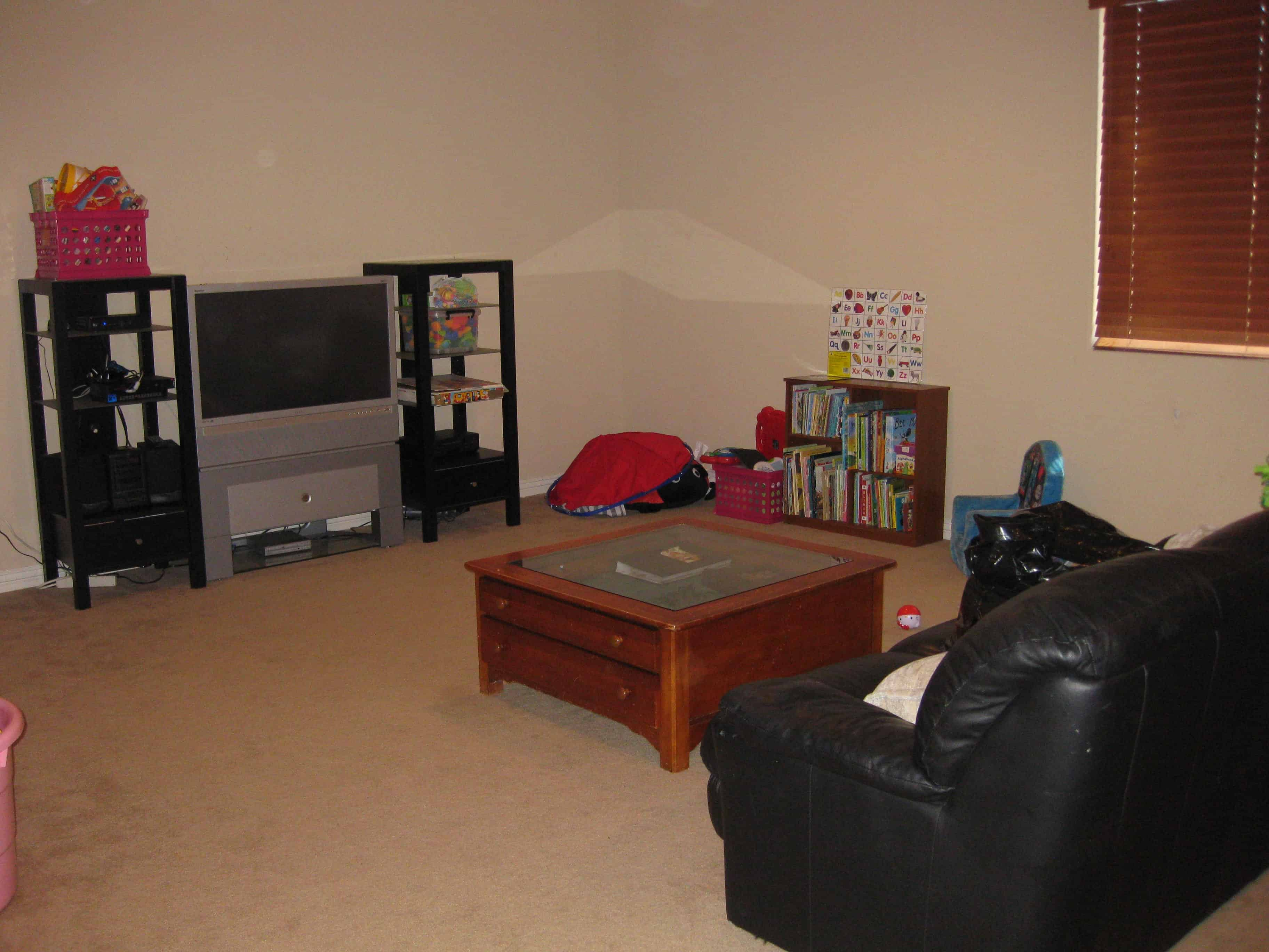 Organized Children's Playroom - After
