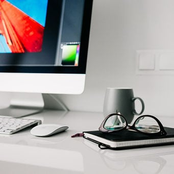 desk clean