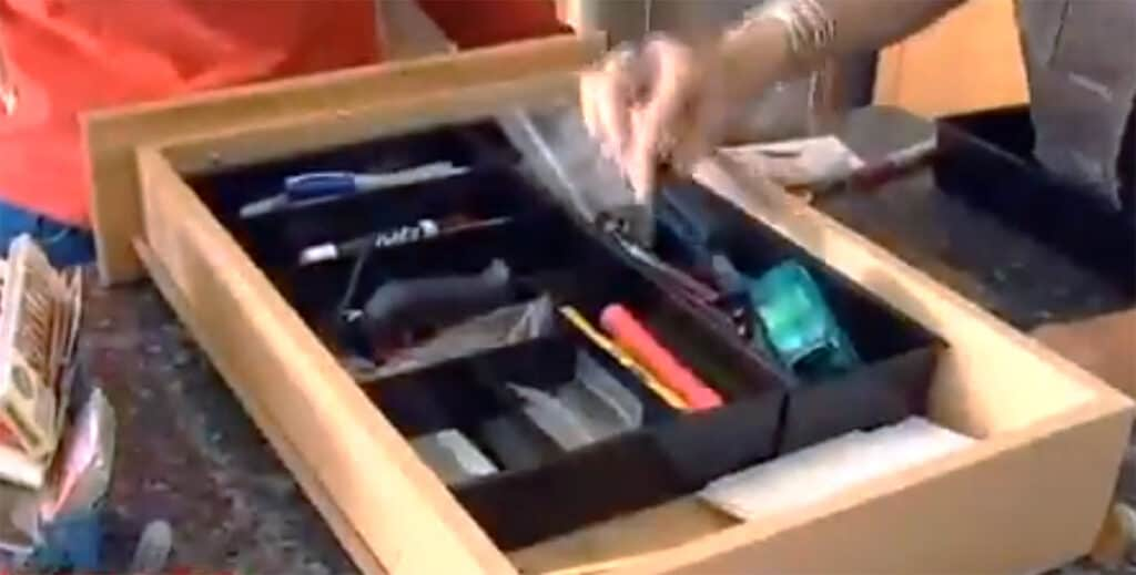Organizing the dunk drawer