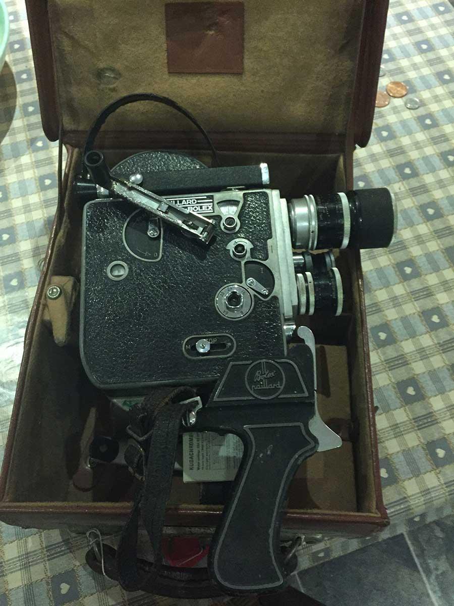 Bolex H16-movie camera