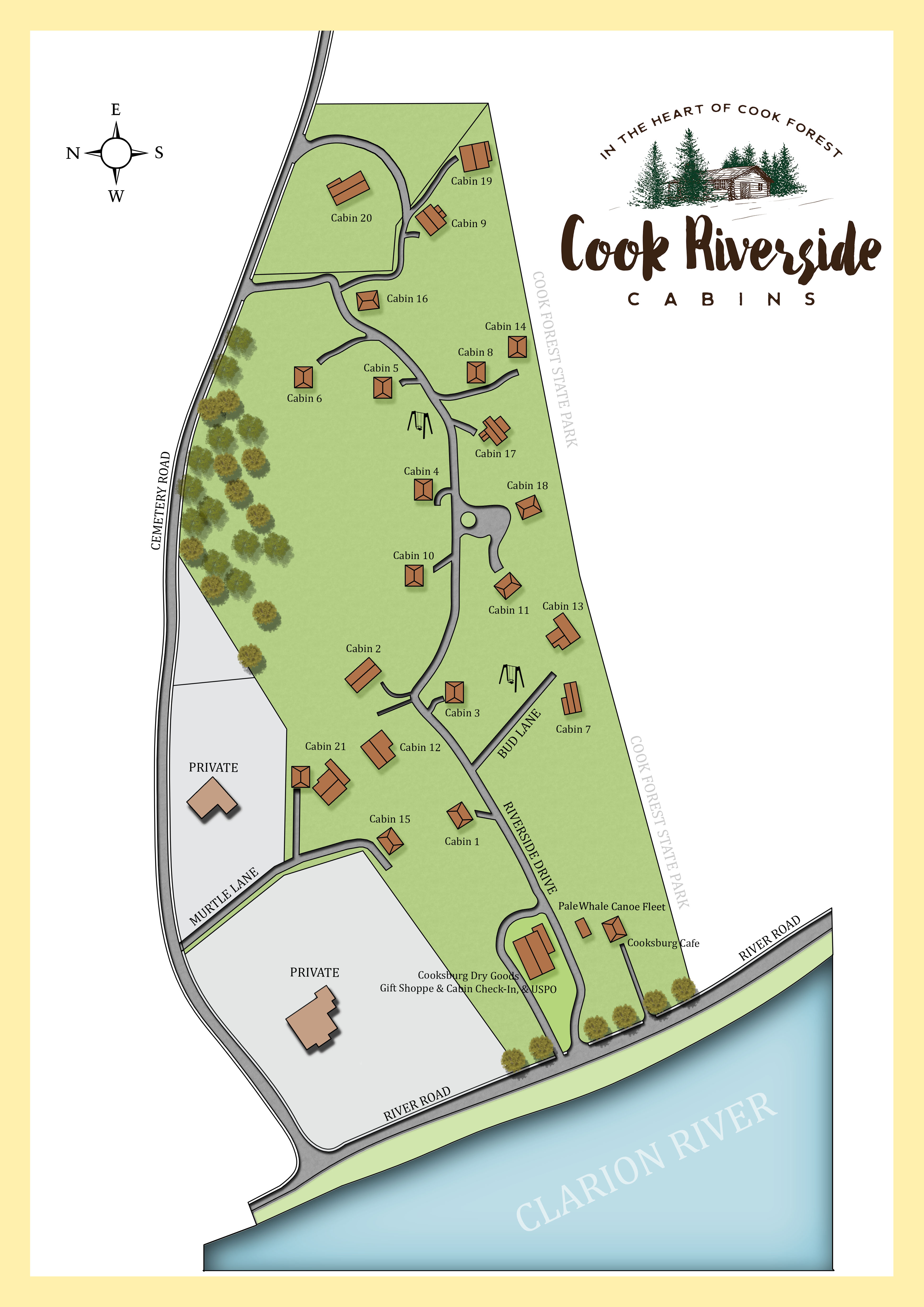 Cook Riverside Color Map