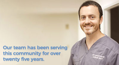 Our team has been serving this community for over twenty five years