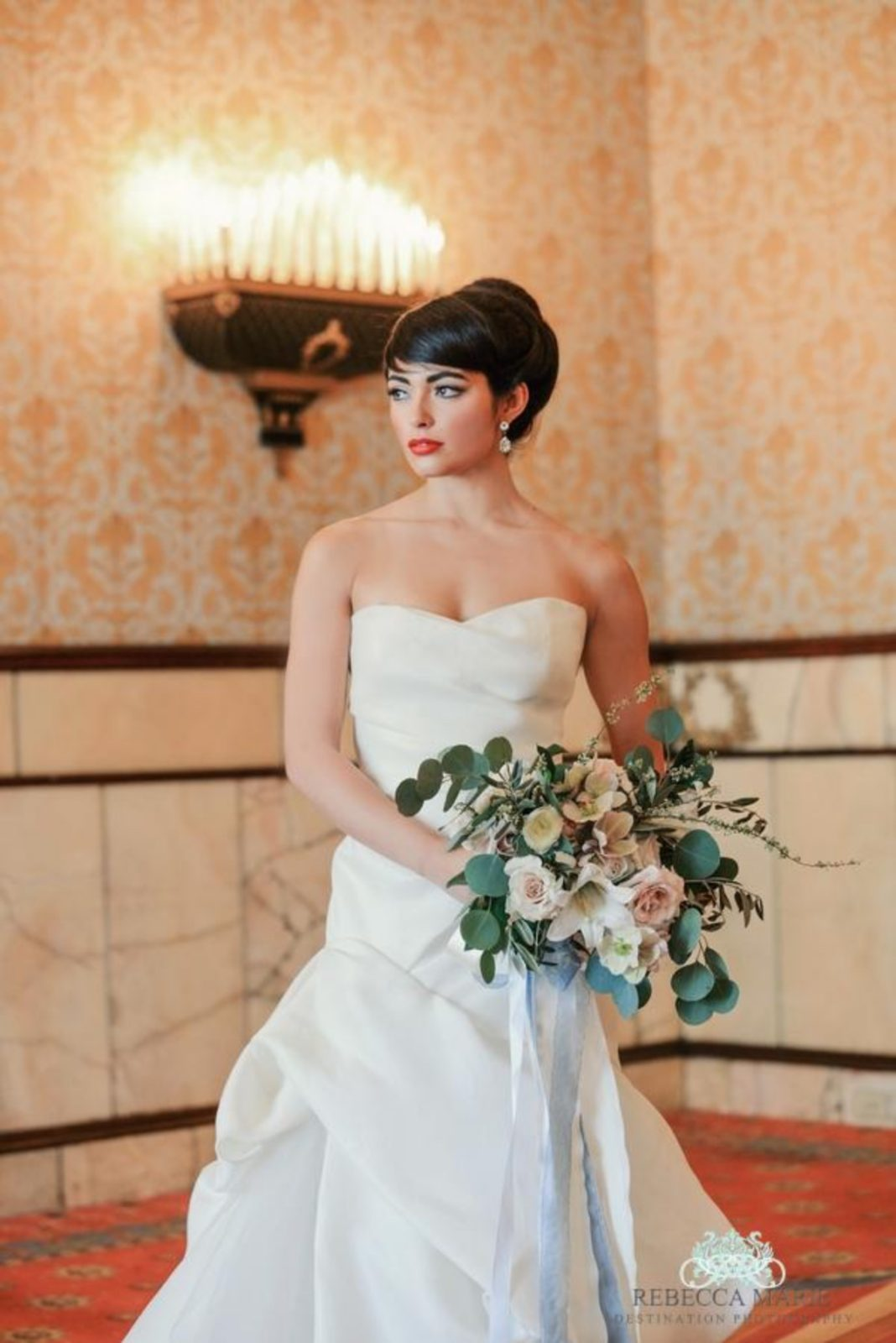 Audrey Hepburn Styled Shoot at The Brown Palace