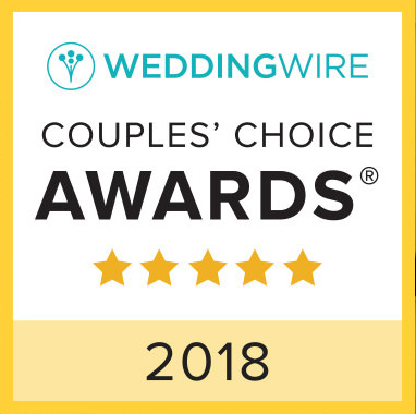Wedding Wire Couples Choice Award 2018