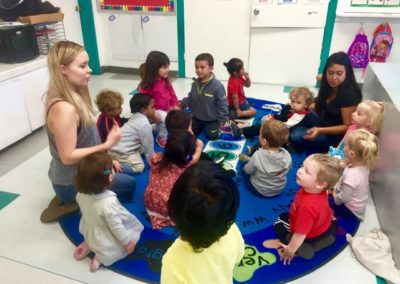 Learning to Count at Caring Hearts Child Care in Sunnyvale