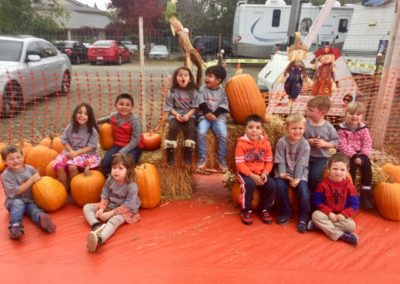 Pumpkin Patch at Caring Hearts Child Care in Sunnyvale