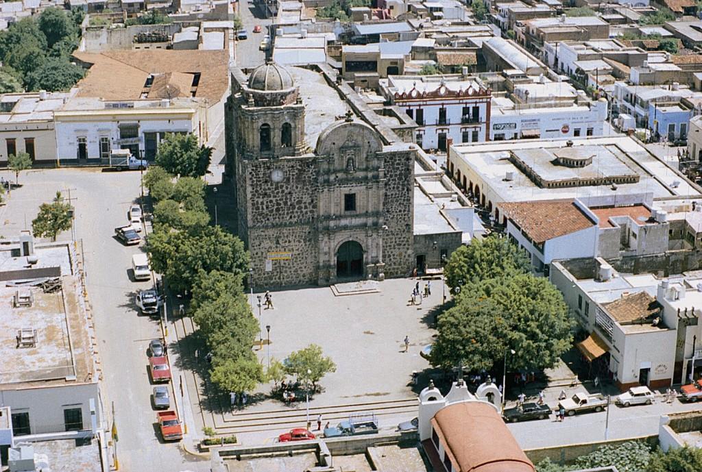 Centro historico Ciudad de Tequila Jalisco Mexico