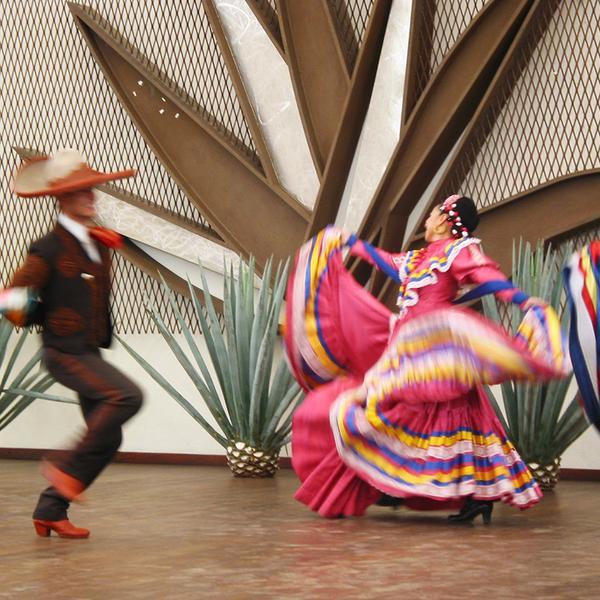 Espectaculo Folclorico en Tequila