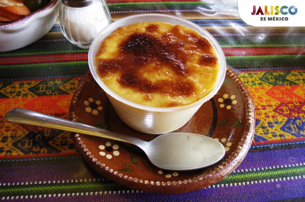 Jericalla postre tipico de la comida en Tequila Jalisco México