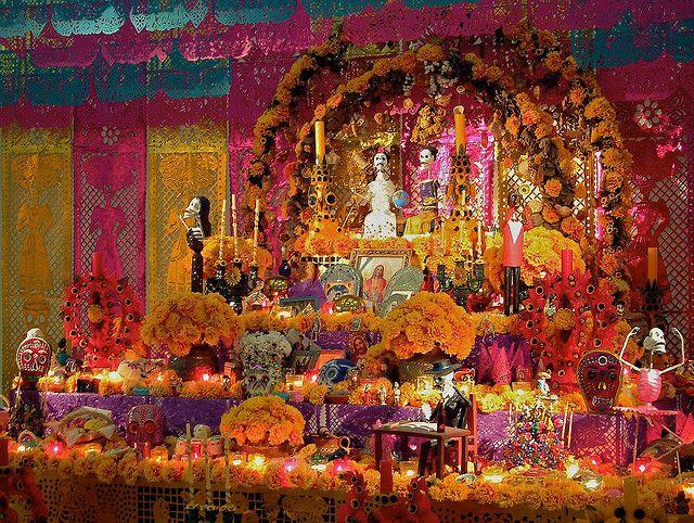 altar de muertos tradicional