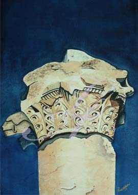 Weathered Art Watercolor