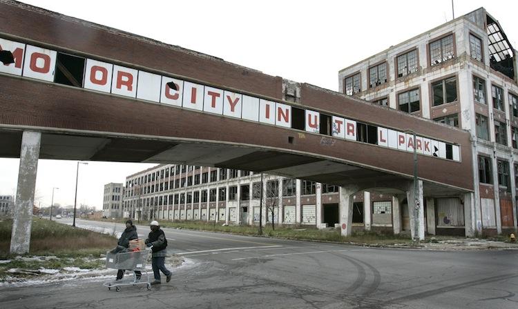 Packard Plant Detroit