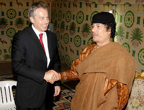 gaddafiblair