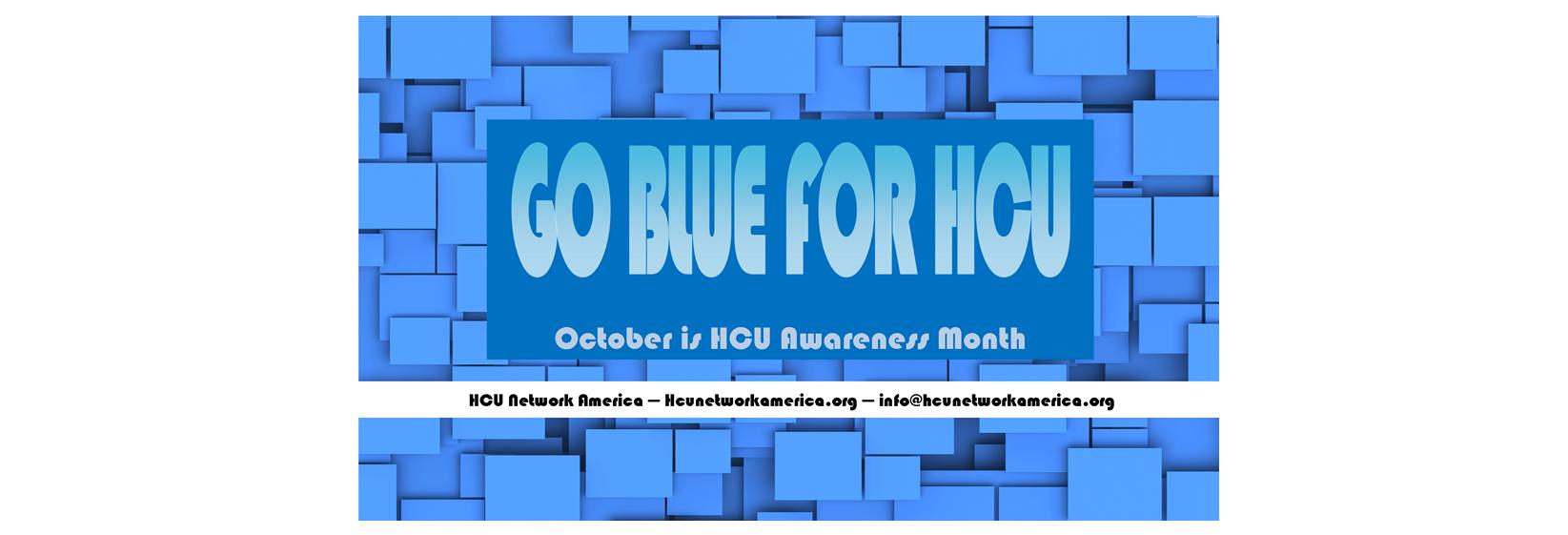 October is HCU Awareness Month