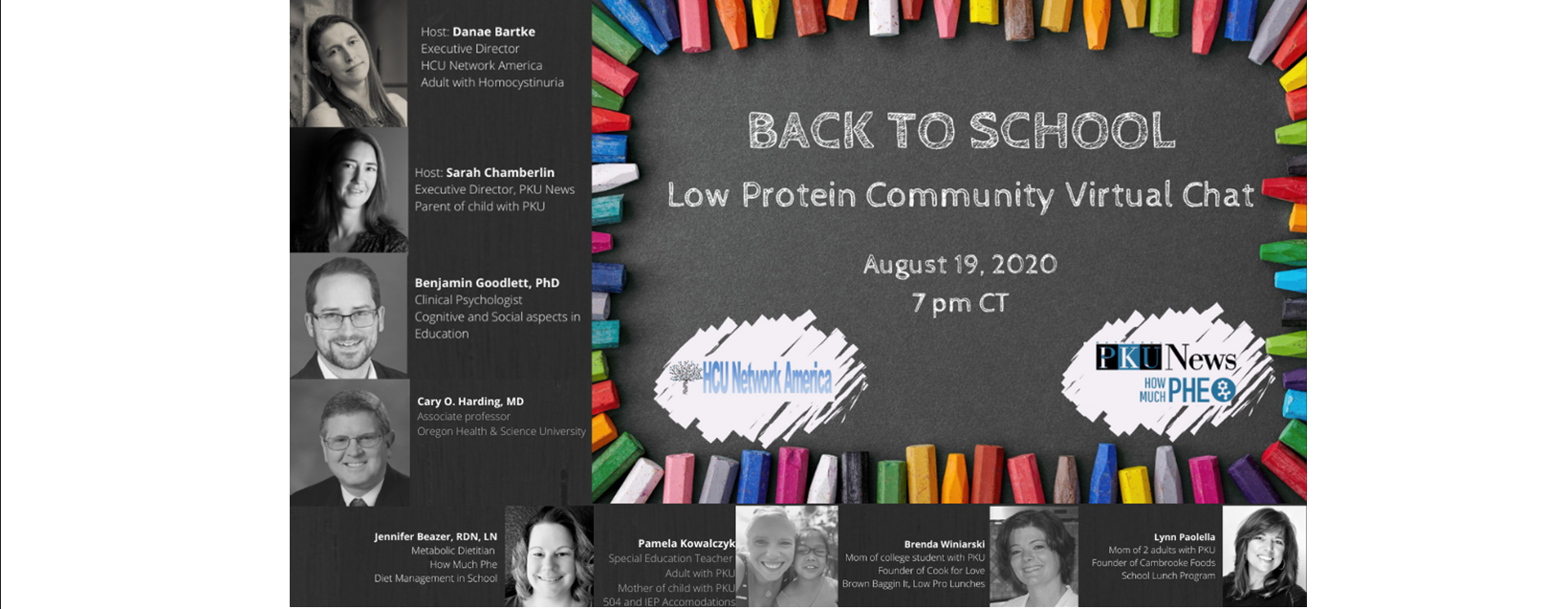 Low Protein Community Virtual Chat