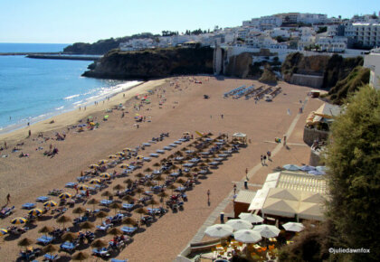 Beach, Albufeira, Algarve Portugal