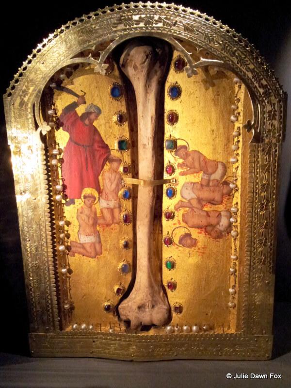 Bone reliquary