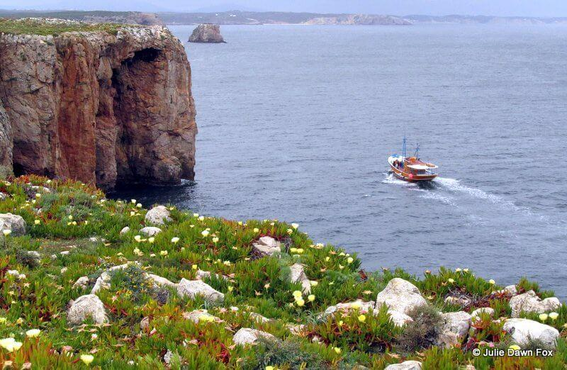 Clifftop view, Sagres, Portugal
