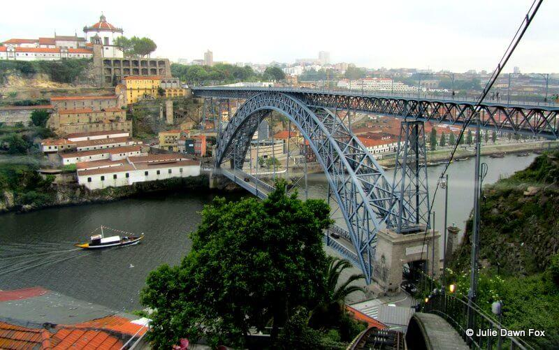 View from Funicular Guindais, Porto.