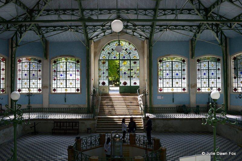 Inside the fountain house, Termas de Melgaço