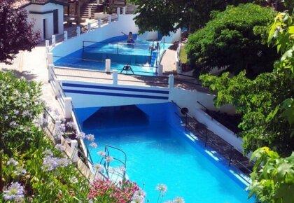 Recreio da Fraga swimming pools, São Miguel de Poiares, Portugal