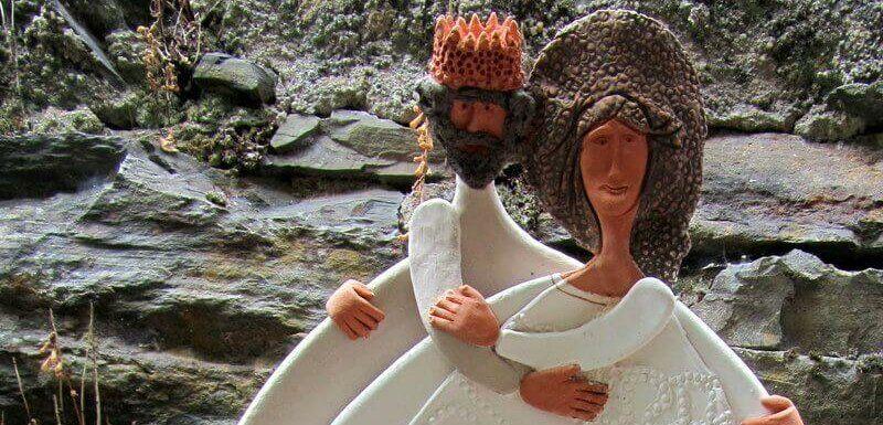 Ceramic Lovers, Cerdeira. Pedro and Inês