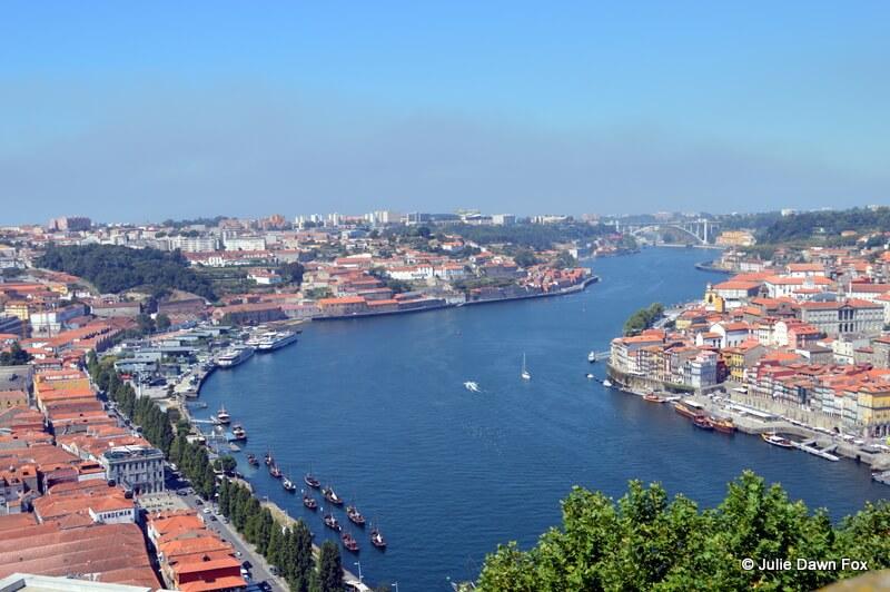 View from Serra do Pilar Monastery, Vila Nova de Gaia, Porto