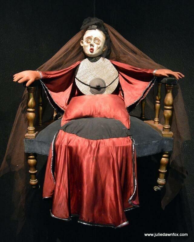 Creepy São Lourenço puppet, Museu da Marioneta, Lisbon