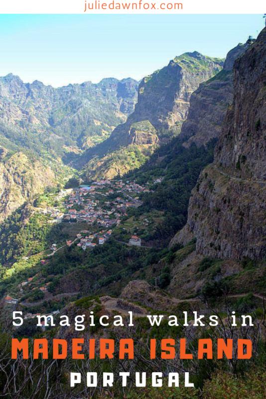 Rugged Mountains. 5 Magical And Easy Madeira Walks _ Julie Dawn Fox in Portugal