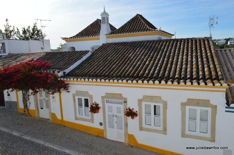 Traditional architecture, Tavira, Algarve, Portugal