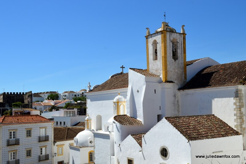 Views of Tavira architecture from the castle walls. One of many things to do in Tavira. Photography by Julie Dawn Fox