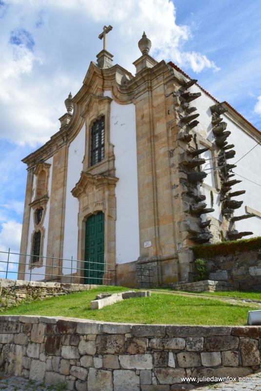 Jagged church, Igreja do Convento de S. Filipe Nery, Freixo da Espada à Cinta