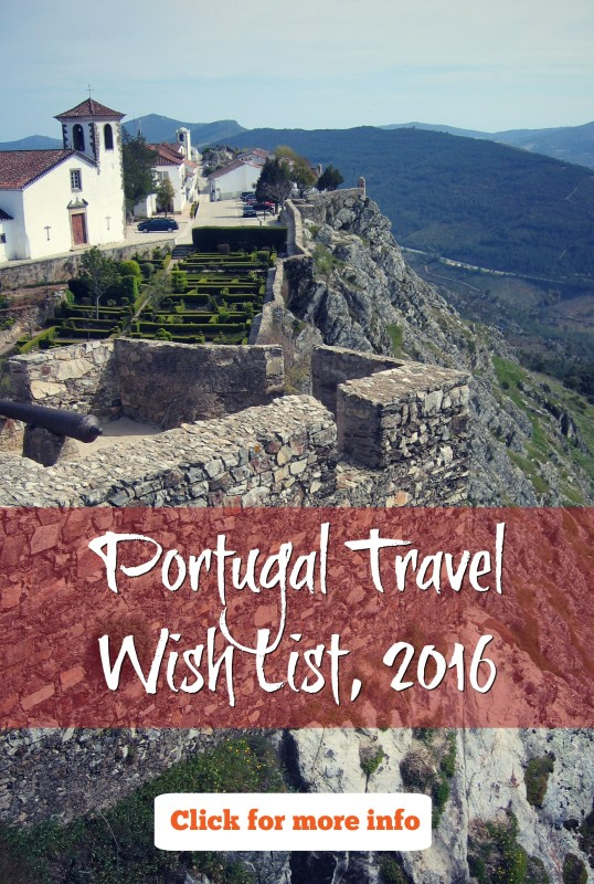 Pin this Portugal Travel Wish List for 2016