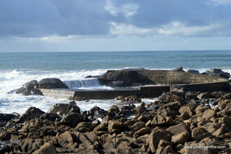 Redonda shellfish farm, Portuguese Way of St. James Coastal Route from Caminha to Oia
