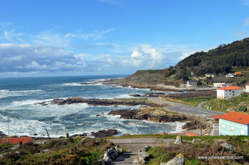 Rocky coastline, A Guarda, Spain
