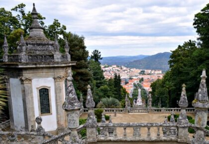 View of Lamego from sanctuary