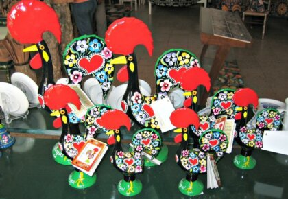 Souvenir Barcelos cockerels
