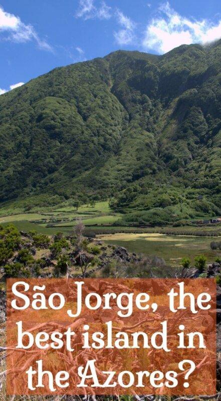 São Jorge island. The best of the Azores
