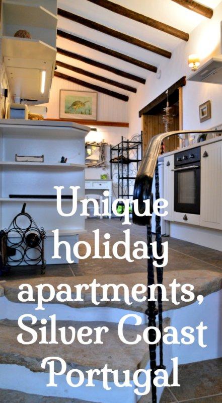 Unique holiday apartments, Quinta do Bom Vento, Silver Coast Portugal