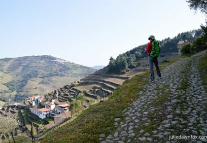 Walking trail above São Cristovão Do Douro